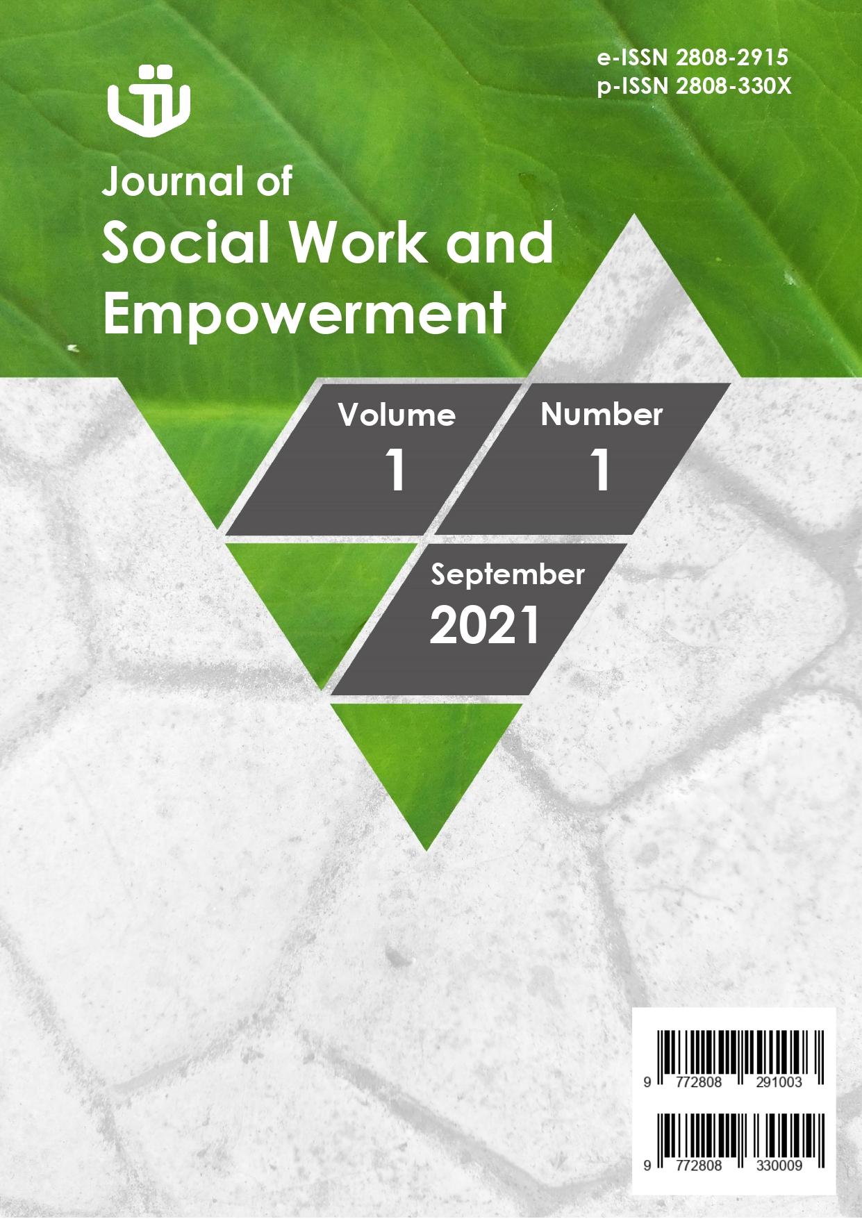 Lihat Vol 1 No 1 (2021): Journal of Social Work and Empowerment - September 2021