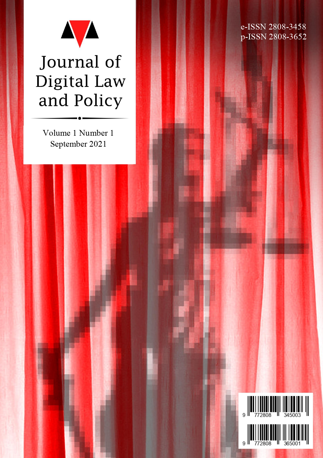 View Vol. 1 No. 1 (2021): Journal of Digital Law and Policy - September 2021